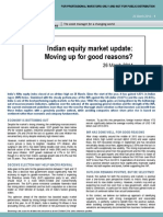20_Indian Equity Markets Update_moving Up for Good Reasons_BNP