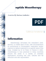Nanopeptide Mesotherapy