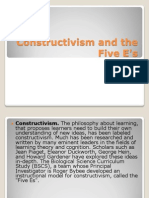 Constructivism and the Five E's