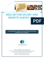 Uganda NGO Sector Salary and Benefits Survey 2014