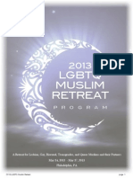 2013 LGBTQ Muslim Retreat Program Book B&W