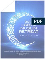 2013 LGBTQ Muslim Retreat Program Book - Color