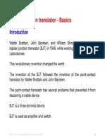 1 BJT-2 Basics