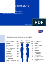 American Cancer Society 2013 Trends