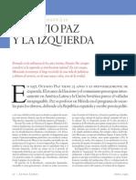 Octavio Paz y la izquierda, de Carlos Monsiváis, Letras Libres, núm. 4, abril, 1999