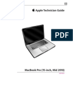 "Apple Technician Manual - Macbook Pro 15"" - Mid 2010"