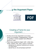 English 1 Spring 2014 Elements of an Academic Paper