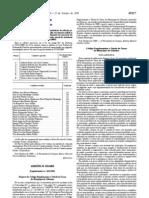 Código Regulamentar e Tabela de Taxas do Município de Odemira