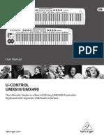 Manual UMX610 Ingles