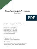 PhotoReading LEER Con Toda La Mente