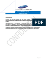 Samsung SMART Scholarship 2014 Application Form