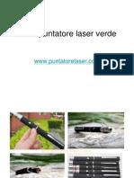 1mW Puntatore Laser Verde