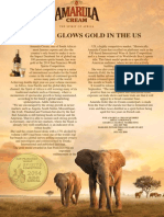Amarula Glows Gold in the US