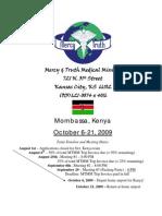 Kenya Team Manual Oct
