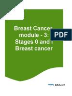 Breast CA Module-3 - Stage 0-1