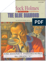 The blue diamond  Sherlock Holmes