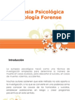 Autopsia Forense