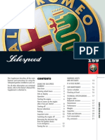 Alfa Romeo 159 SELESPEED Gearbox Overview