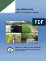 Pedoman Teknis Pengembangan Jaringan Irigasi 2014