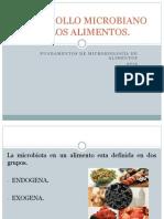 Desarrollo Microbiano en Los Alimentos
