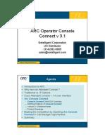 ARC Attendant Console v3 1