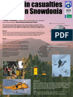 Mountain Casualties in Snowdonia - 2007 summary - Conference Poster
