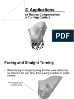Tool Nose Compansation