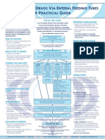 Practical Guide to Enteral Feedings (Poster)