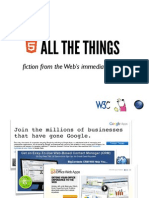 Html5 All the Things