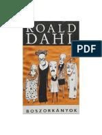 Roald Dahl Boszorkanyok