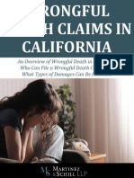 Wrongful Death Claims in California