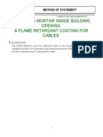 Fire Retardant Coating for Cables_ Method of Statement_eng_06.08.12