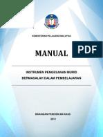 Manual Instrumen Pengesanan Murid Bermawsalah Dalam Pembelajaran- (Linus Tegar)