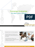 Converge EnterpriseCustomer Relationship Management Solutions