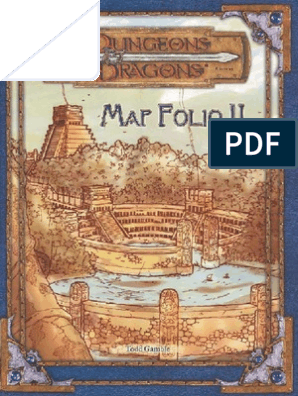 graphic about Sunless Citadel Printable Map titled DD - Map Folio II Entertainment Sporting activities