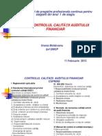 Controlul Calitatii in Audit