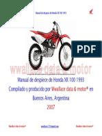 Despiece Honda Xr 100 1993w