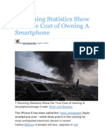 7 Stunning Statistics Show the True Cost of Owning A Smartphone.docx