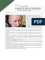 Stanovnik Quiere La Cruz en La Bandera-120414