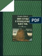 Alemko Gluhak - Hrvatski etimološki rječnik
