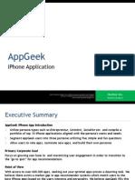 AppGeek Project Scope & Plan