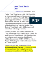 The Truth About Yusuf Kazzab Blasphemy Case & Zaid Hamid