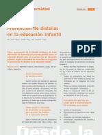 prevención de dislalias en educación infantil