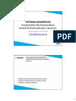 Sesión 10 - Componentes electroneumáticos y de control. Electroválvulas y sensores.