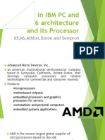 AMD in IBM PC and the x86 Architecture