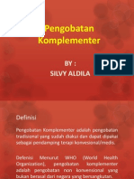 Silvy Aldila_Pengobatan Komplementer