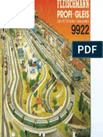 Fleischmann 9922 Profi-Gleis
