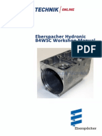 Eberspacher Hydronic B4WSC Workshop Manual