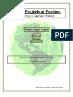 Team Green Purdue, White Paper Project (pdf)