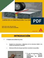 JUNTAS EN LA CONSTRUCCIÓN C